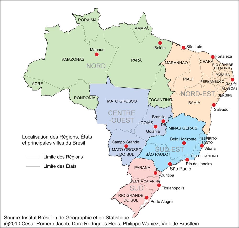 Au Brésil, continuité politique et stabilité géographique ...