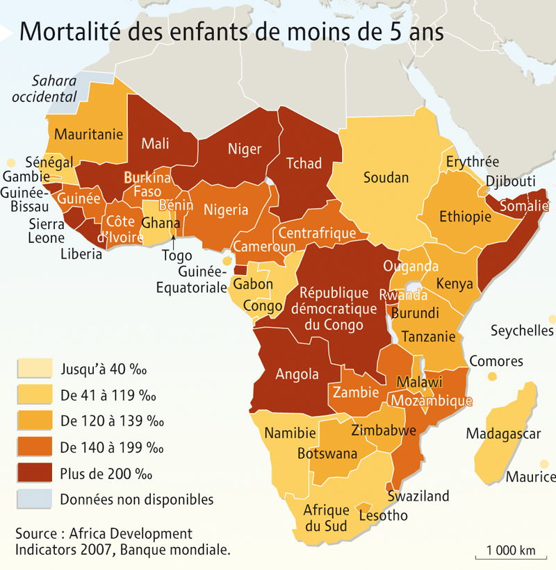 Carte Afrique Pma.L Afrique Les Defis Du Developpement Blog Histoire