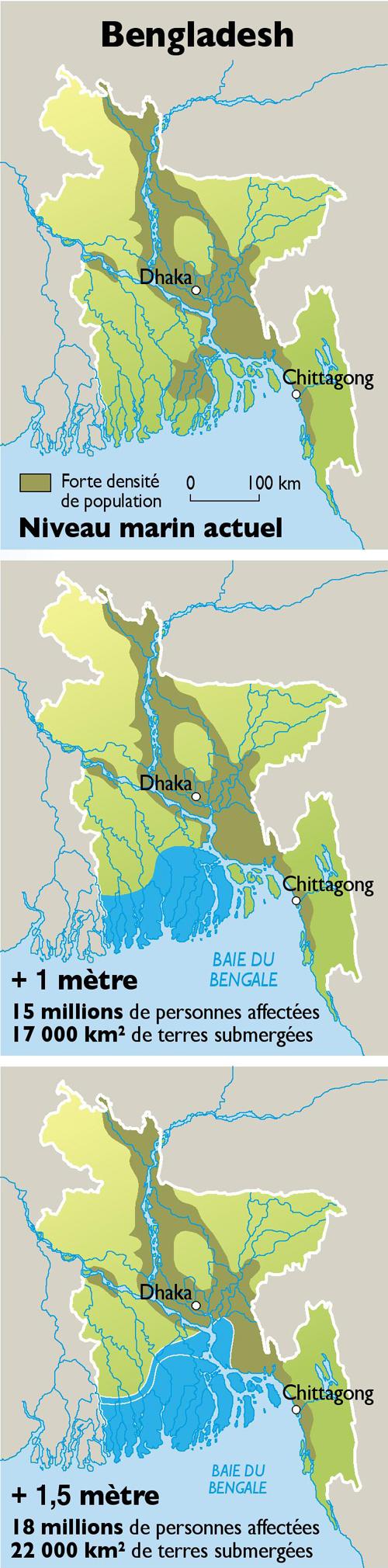 Le Delta Du Nil Menacé Par Les Eaux Par Philippe Rekacewicz